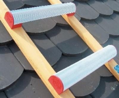 Echelle toit bois alu écartement 33cm 5,0m