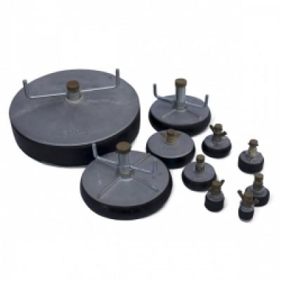 Tampon obturation aluminium 50x50mm LIMATEC