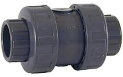 Clapet anti-retour PVC D50 à coller AQUALUX