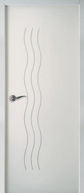 Bloc porte alv olaire post moderna cascade pr peint 730mm for Bloc porte alveolaire