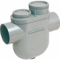 Siphon disconnecteur PVC diamètre 125mm NI2 - NICOLL