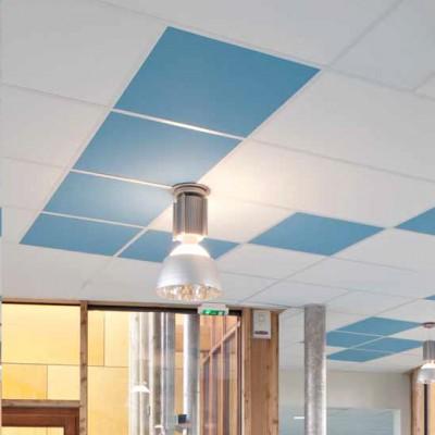 Plafond TONGA 20 Panneaux 40x600x600 Soit 7 200m² Blanc