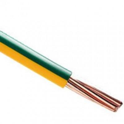 Fil rigide HO7V-R 16mm2 vert/jaune au mètre NEXANS