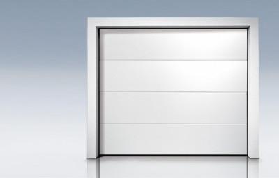 Porte sectionnelle superior 42 style ral9016 2125x2400 for Porte de garage sectionnelle 2125 x 2400