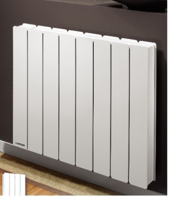 radiateur pegase 2 horizontal 1250w blanc applimo gap 05000 destockage habitat. Black Bedroom Furniture Sets. Home Design Ideas