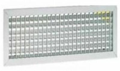 Grille aluminium double déflexion  500x150mm ATLANTIC CLIM/VENTIL