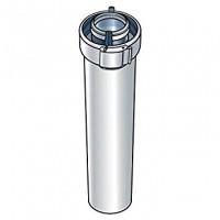 Conduit CONCENTRIQUE aluminium 60/100 2m UBBINK