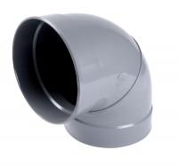 Coude femelle femelle 87°30 simple diamètre 200mm NICOLL