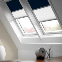 Store occultant Duo DFDS S06 blanc Velux