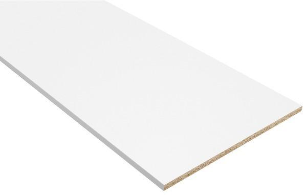 tablette mélaminé 18x2500x500mm blanc perle - la rochelle - 17000