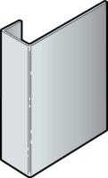 Profil d'arrêt cedral lap aluminium brun atlas 3000mm c14