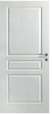 Huisserie seule 118x57mm CREACONFORT bois dur 830x2040mm rive droite sans ferrage