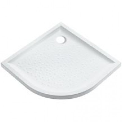 Receveur d'angle PRIMA 90 cm extra-plat blanc ag ALLIA réf : 007242