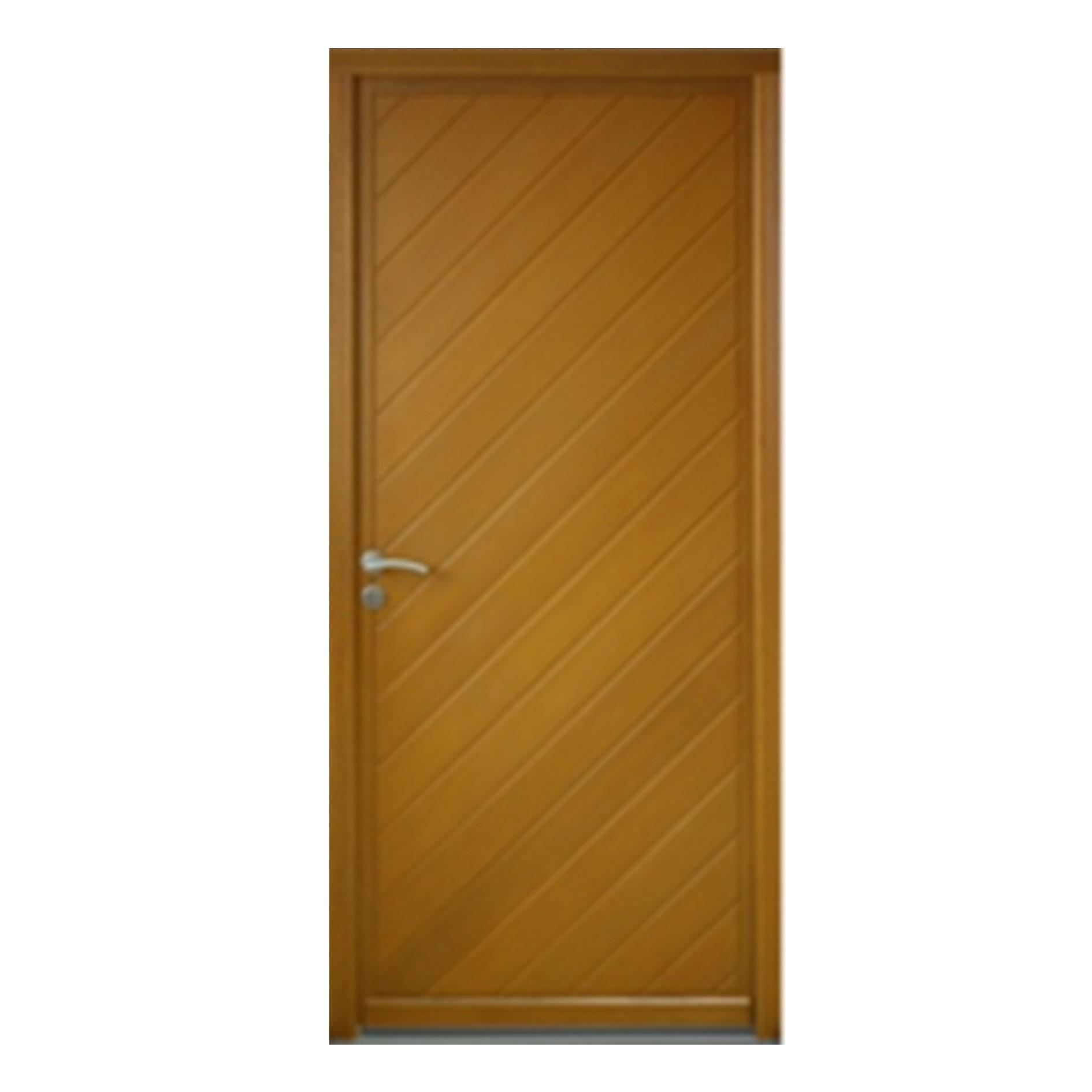 Porte d 39 entr e gauche bois exotique meranti mod le l2 215 x 90cm brevon - Destockage bois exotique ...