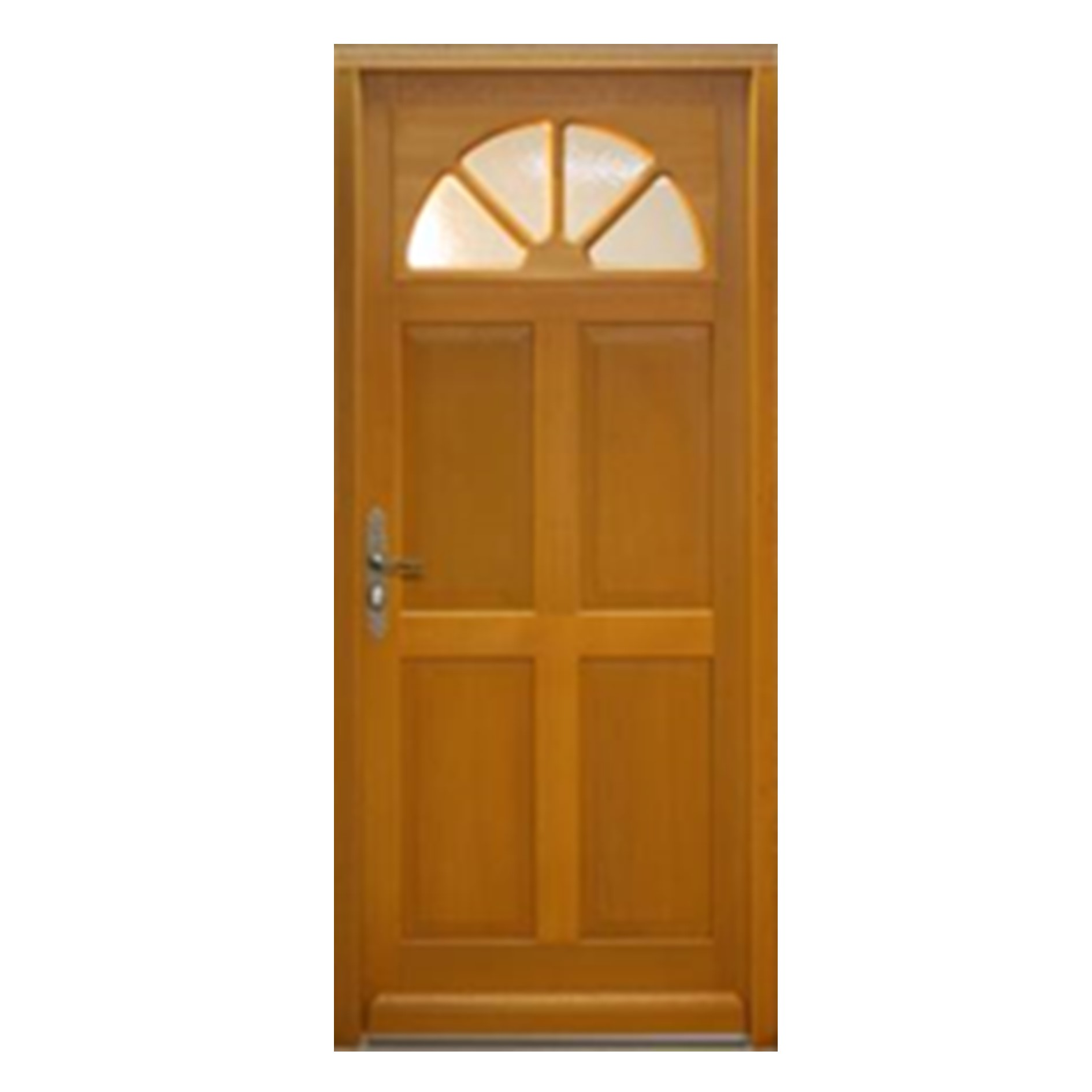 Porte d 39 entr e gauche bois exotique meranti mod le fi 215 x 90cm brevon - Traitement bois exotique ...