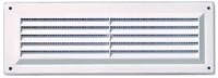Grille simple  165x86mm avec moustiquaire blanc AUTOGYRE