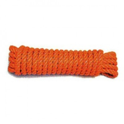 Cordage polypropylène orange diamètre 14mm