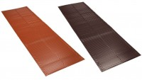 Bande noue aluminium VARIO 3 DR576 brun MONIER