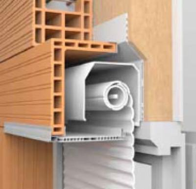 demi coffre de volet roulant terre cuite 20x160cm bouyer leroux structures lons 64140. Black Bedroom Furniture Sets. Home Design Ideas