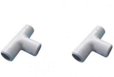 Accessoire IRL tés diamètre 25mm sachet de 2 DEBFLEX