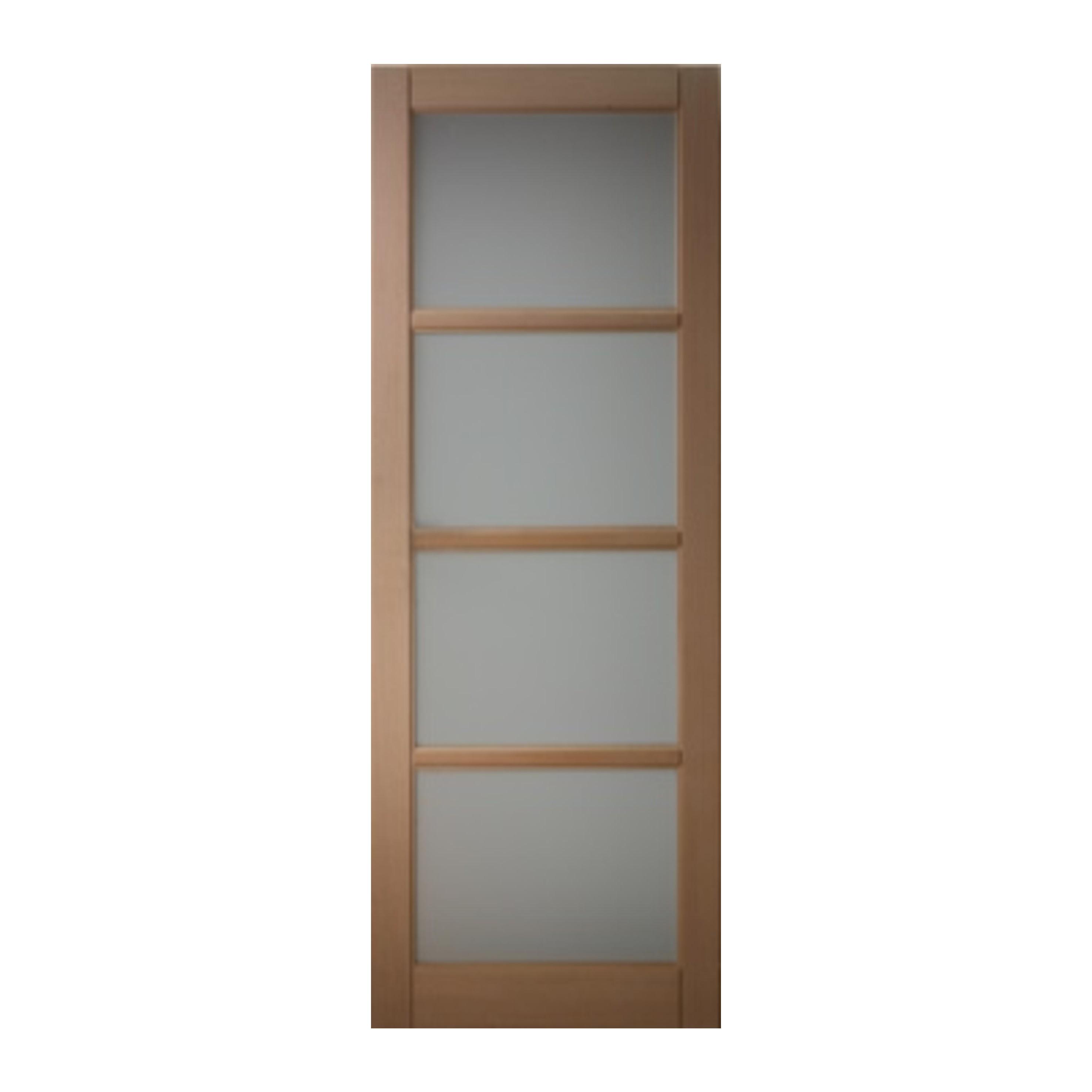 porte seule coulissante bois h tre 4 vitrages 2040 x 630 mm saint leger sous brienne 10500. Black Bedroom Furniture Sets. Home Design Ideas