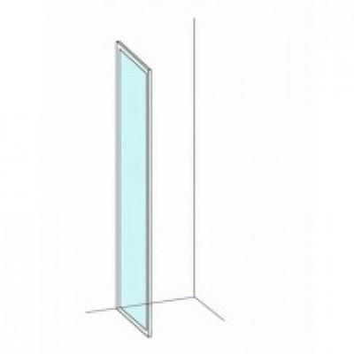 Paroi fixe largeur 96/99cm verre transparent BASIC SEGMENT