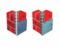 Profilé d'angle en acier galvanisé 3ml carton 15 unité