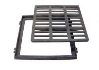 Grille fonte plate accès PMR C250 855x810-740x740mm FOE - FONDATEL LECOMTE SA