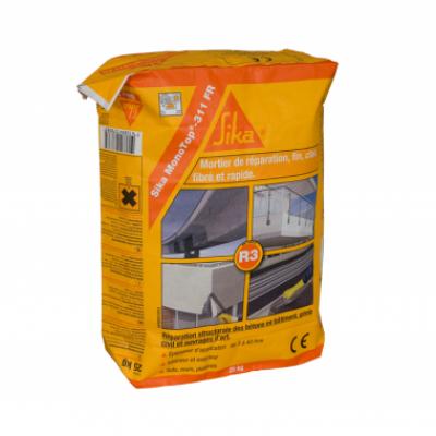 mortier de r paration sika monotop 311fr r3 fibre sac 25kg. Black Bedroom Furniture Sets. Home Design Ideas