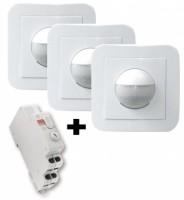 Pack rénovaton 3 détecteurs + minuterie BGF - BEG FRANCE