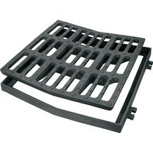 grille concave c250 carr e 400mm cof samse go saint. Black Bedroom Furniture Sets. Home Design Ideas