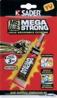 SADER MS GLUE MEGA STRONG tube 20g BOSTIK