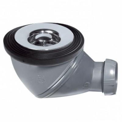 Bonde douche JAMES diamètre 60mm sortie diamètre 40mm chromé