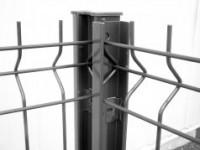 Feuillure AQUILON acier blanc 1,80m LIPPI LA CLOTURE