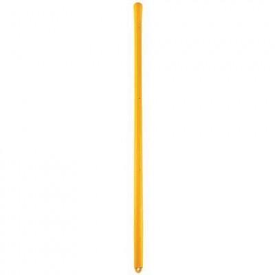 Manche fibre pour pelle 110cm jaune