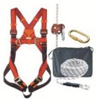 Ensemble de sécurité harnais antichute corde mousqueton