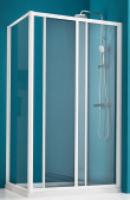Paroi douche coulissante largeur 96/102 verre sérigraphié BASIC SEGMENT