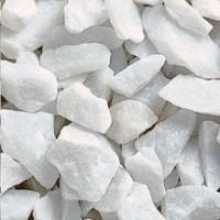Gravillons bianco carrara de diamètre 8/16mm en sac de 25kg
