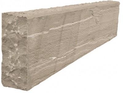 Bordure pierre orient 100x25x12cm gris GONTERO CAVE SRL