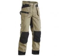 Pantalon coton poche Flot beige/noir taille 48/C54