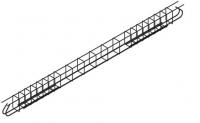 Poutre VULCAIN V 400x12x30mm FIMUREX MANCELLES