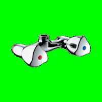 Mélangeur de douche mâle 15x21 Entraxe 60mm DELABIE