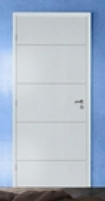Bloc-porte alvéolaire 110 prépeint huisserie 90mm NEOLYS recouvrement PDDT RIGHINI SAS