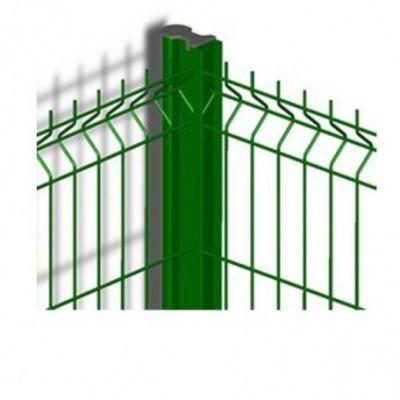 Feuillure ATLANTIS acier vert 1,00m