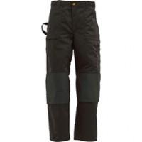 Pantalon en coton à poches flottantes beige/noir T40/C46