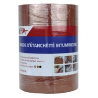 Bandes d'étanchéité bitumineuse CADA aluminium 10mx22.5cm