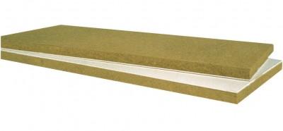 Plaque de plâtre Labelrock 10+120mm 2,5x1,2m ROCKWOOL