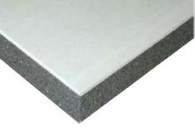 Plaque de plâtre DOUBLISSIMO PERFORMANCE marine 3.40 13+100 de dimesions 250x120cm PLACOPLATRE SA