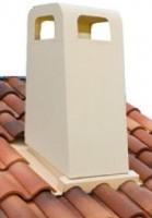 Plaque d'étanchéité compléte adaptuile beige romane carrée LAHERA PRODUCTIONS