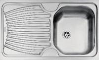 Evier ECO inox à encastrer reversible 1 bac 50x17,5cm